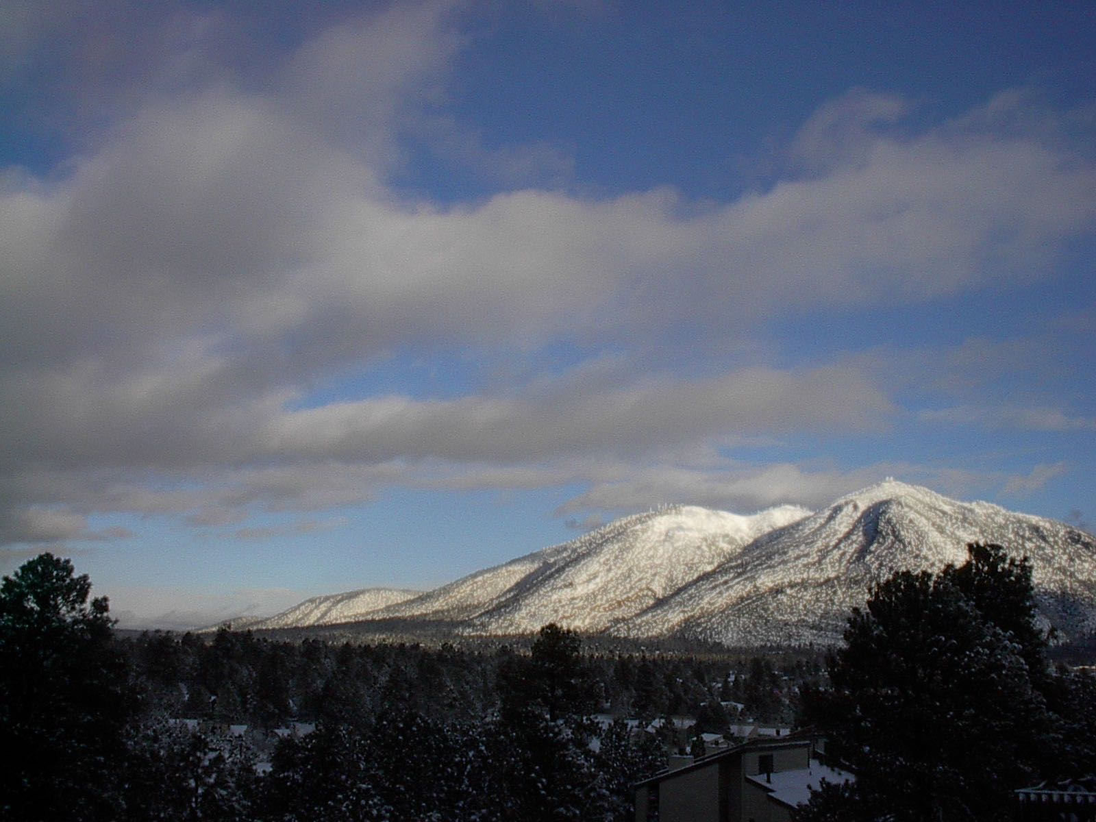 San Francisco Peaks In Flagstaff