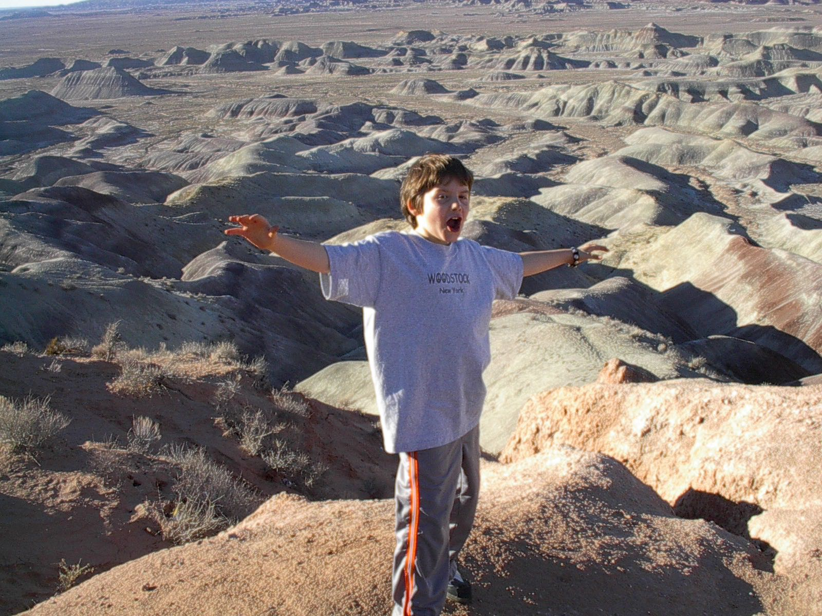 Justin At Little Painted Desert