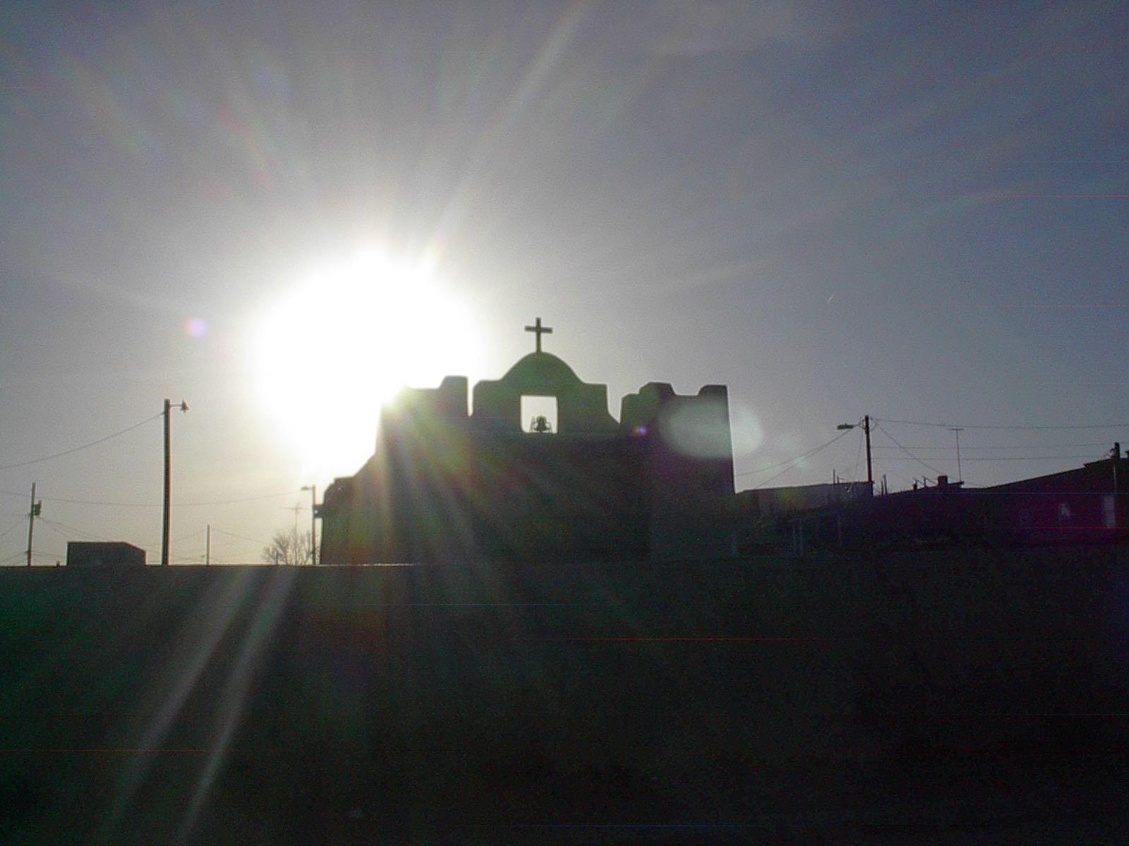 Church In Zuni Village